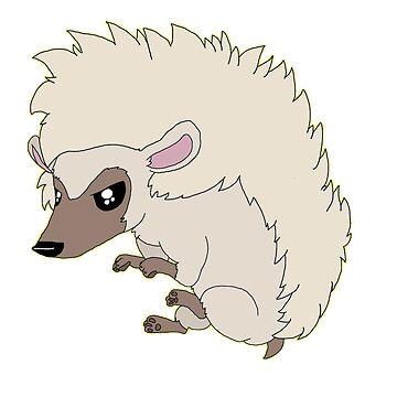 Hedgehog by ShadowCatArts