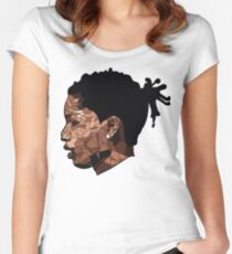 Asap Rocky Art Women's Fitted Scoop T-Shirt