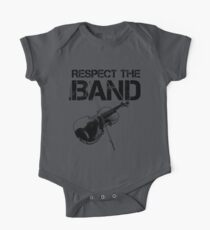 Respect The Band - Violin (Black Lettering) Kids Clothes