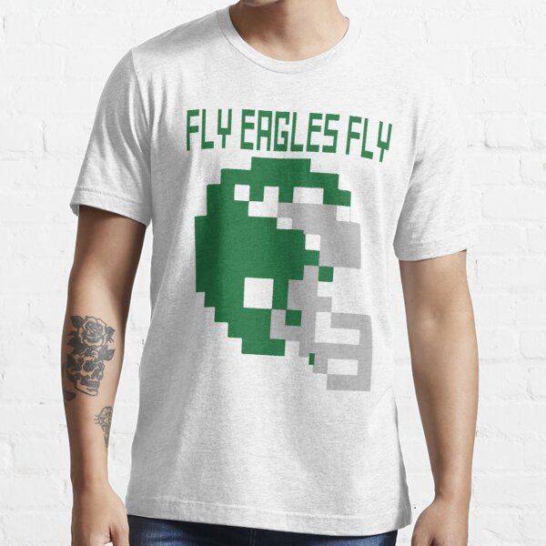 Philadelphia Eagles - Fly Eagles Fly 8-Bit Essential T-Shirt
