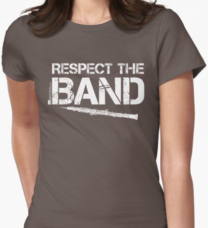 Respect The Band - Oboe (White Lettering) T-Shirt