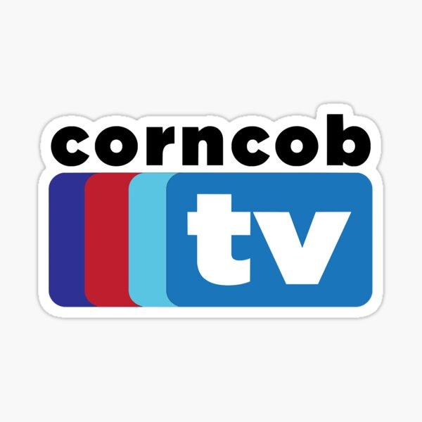 Corncob TV Sticker