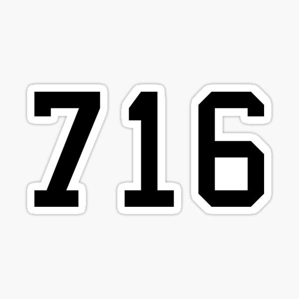 716 Sticker