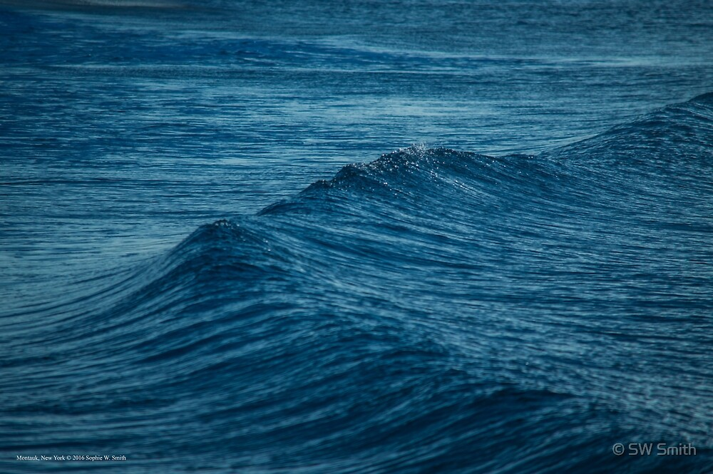 Wind Wave - Atlantic Ocean | Montauk, New York by © Sophie W. Smith