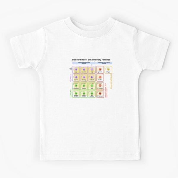 Standard Model Higgs Boson Particle Physics Student Gift  Kids T-Shirt
