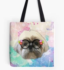 Shih tzu dog 2 Tote Bag