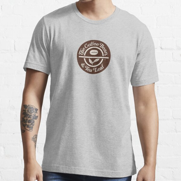 Klassisches Kaffeebohnen- & Teeblatt-Design Essential T-Shirt