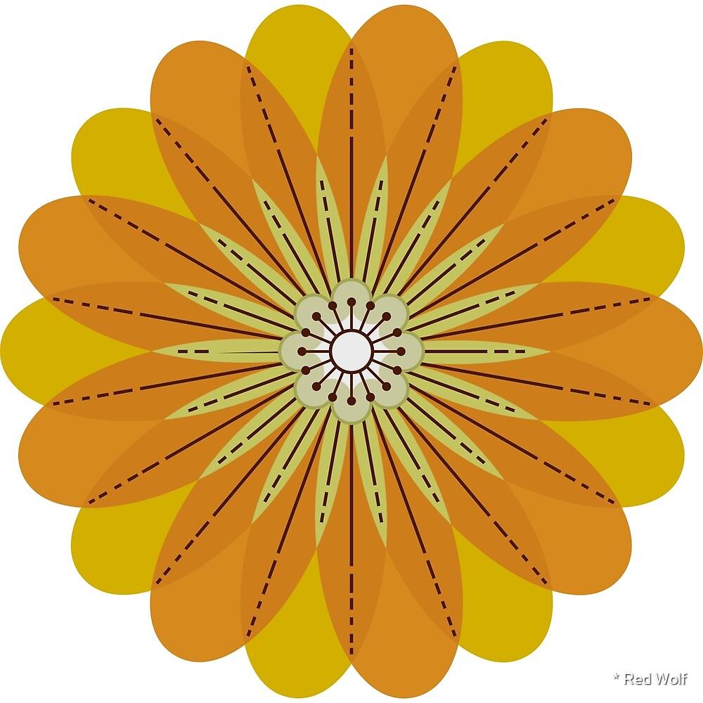 Flower Pattern: Daisy Chain: Natasha Marshall by * Red Wolf