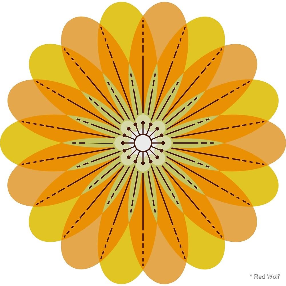 Flower Pattern: Daisy Chain: Natasha Marshall Light by * Red Wolf