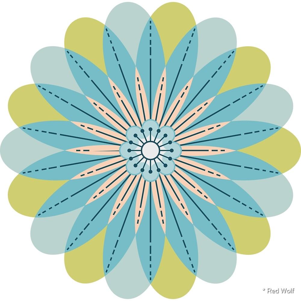 Flower Pattern: Daisy Chain: Wirth by * Red Wolf