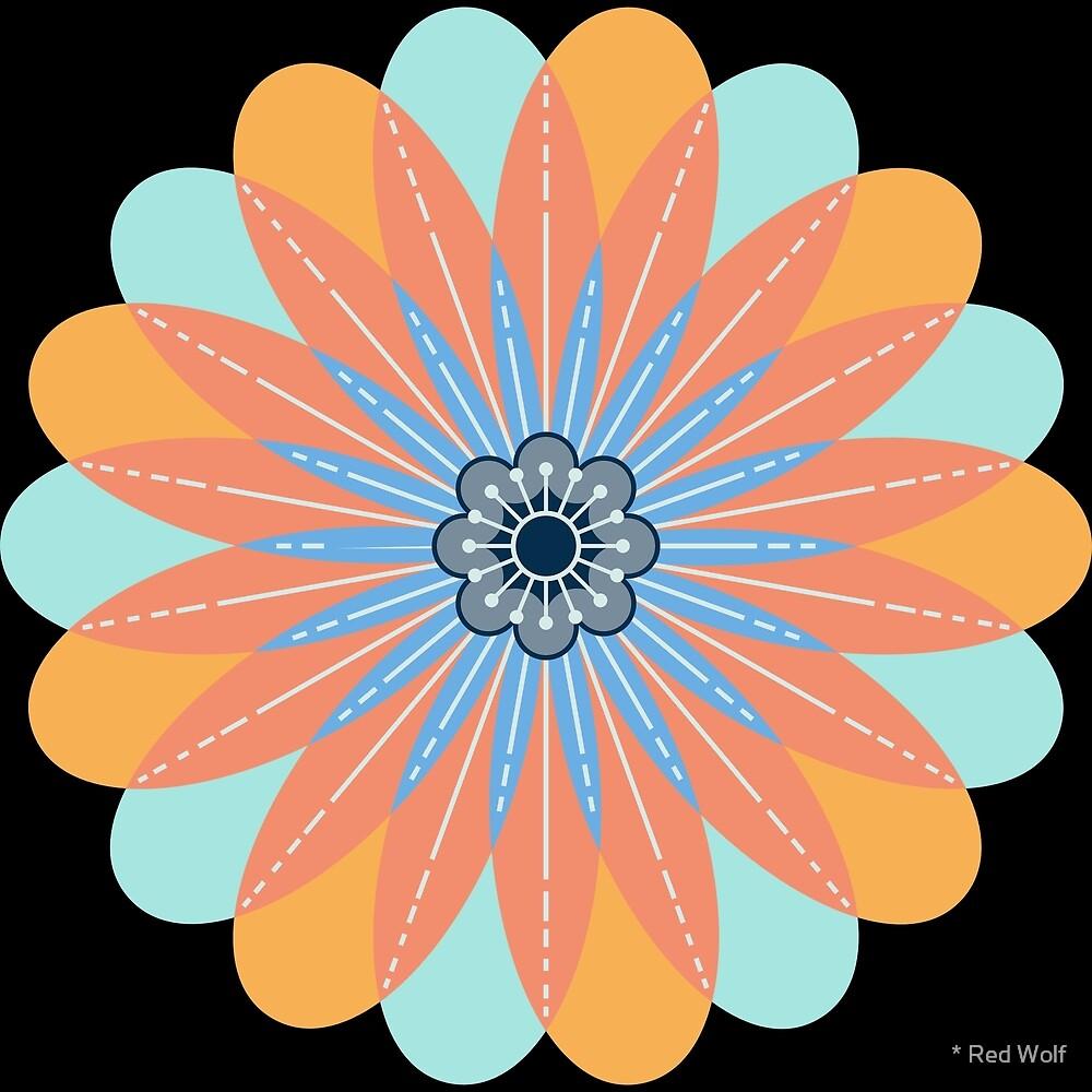 Flower Pattern: Daisy Chain: Kittyhawk by * Red Wolf