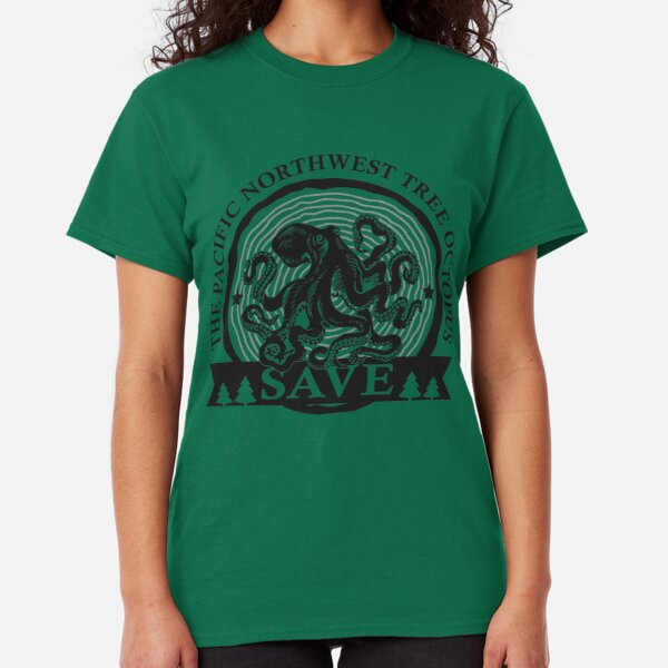 Save the Pacific Northwest Tree Octopus Classic T-Shirt