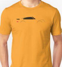 1990 Turbo Sports Car Unisex T-Shirt