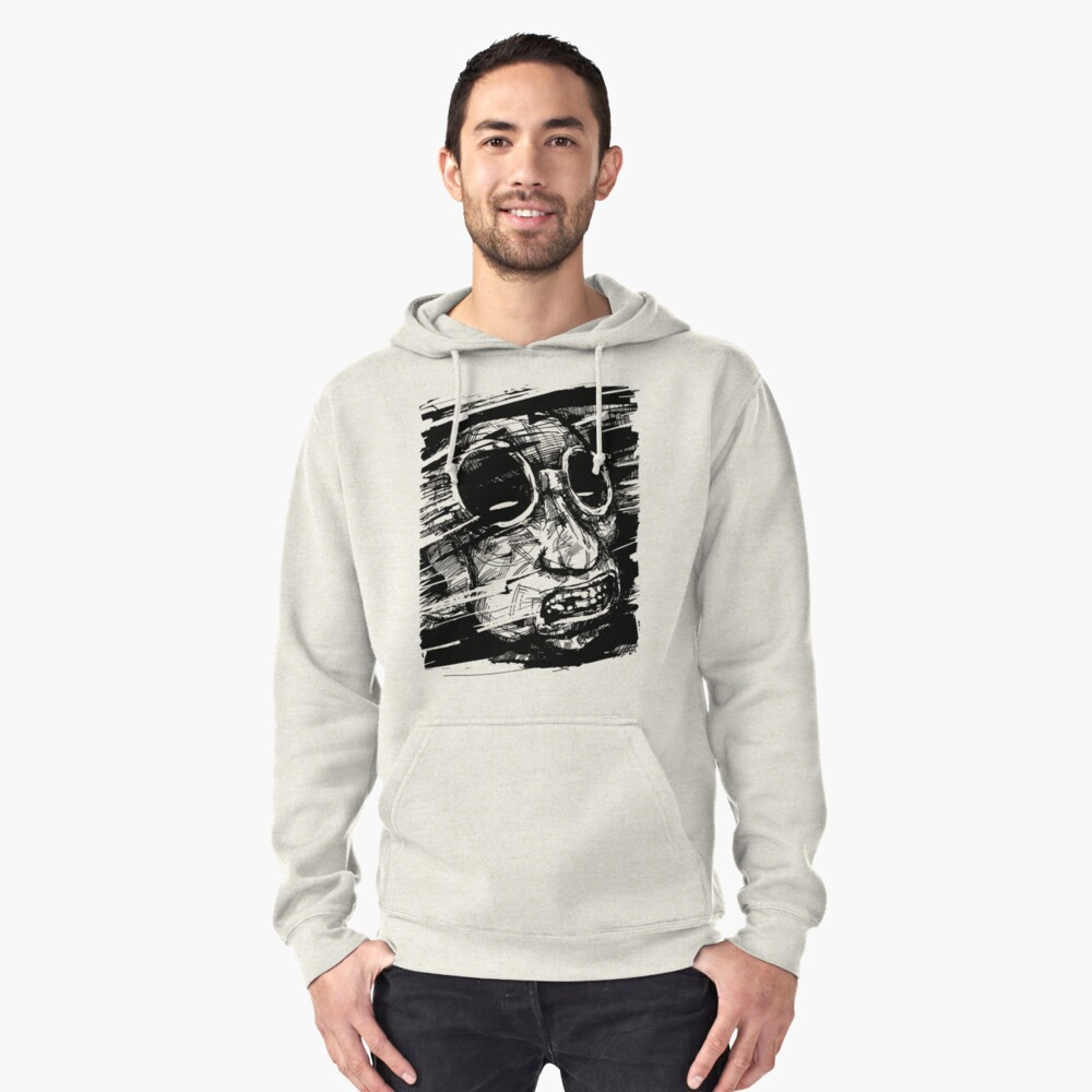 Speed Of Life Pullover Hoodie Front