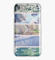 Rain Comes Down iPhone Case/Skin