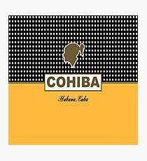 Cohiba Habana Cuba Cigar Photographic Print