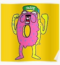 Jake Odd Future Dripping Breast Poster