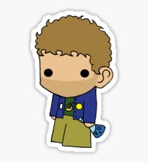 Tiny Hodgins Sticker