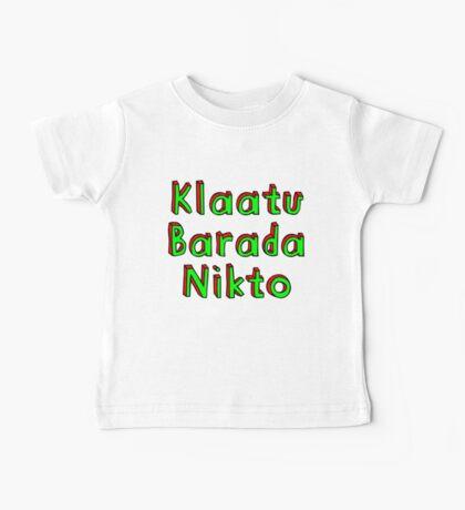 Klaatu Barada Nikto Kids Clothes