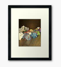 Holy Relics of the Gamer Framed Print