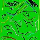 Green with envy by Ashoka Chowta