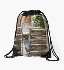 Cinque Terre hiking Drawstring Bag