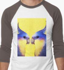 Winnie Bird Men's Baseball ¾ T-Shirt