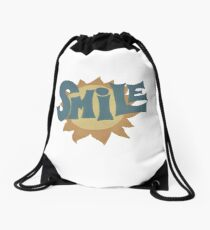 SMiLE! Brian Wilson cover Drawstring Bag