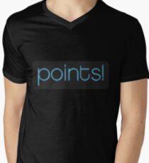 Points! Men's V-Neck T-Shirt