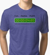 Cut Paste Puff 002 Tri-blend T-Shirt