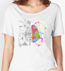Analytical and Creative Brain Women's Relaxed Fit T-Shirt