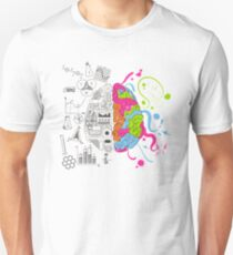 Analytical and Creative Brain T-Shirt