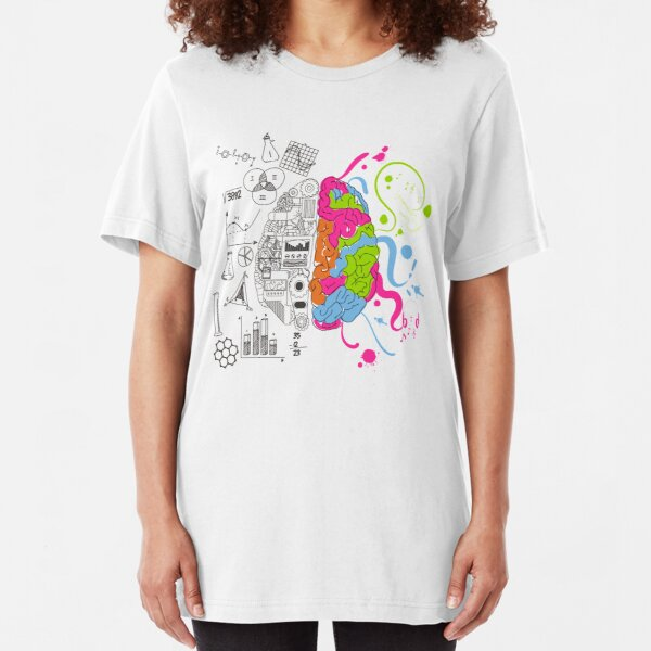 Analytical and Creative Brain Slim Fit T-Shirt