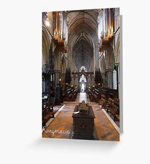 The Eternal rest of John, King of England Greeting Card