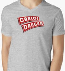 Carlos Danger Mens V-Neck T-Shirt