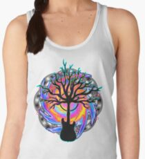 """Psychedelic Sonic Cyclone""   ( surreal guitar tree art) Women's Tank Top"