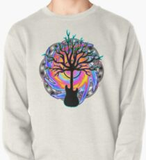 """""""Psychedelic Sonic Cyclone""""   ( surreal guitar tree art) Pullover"""