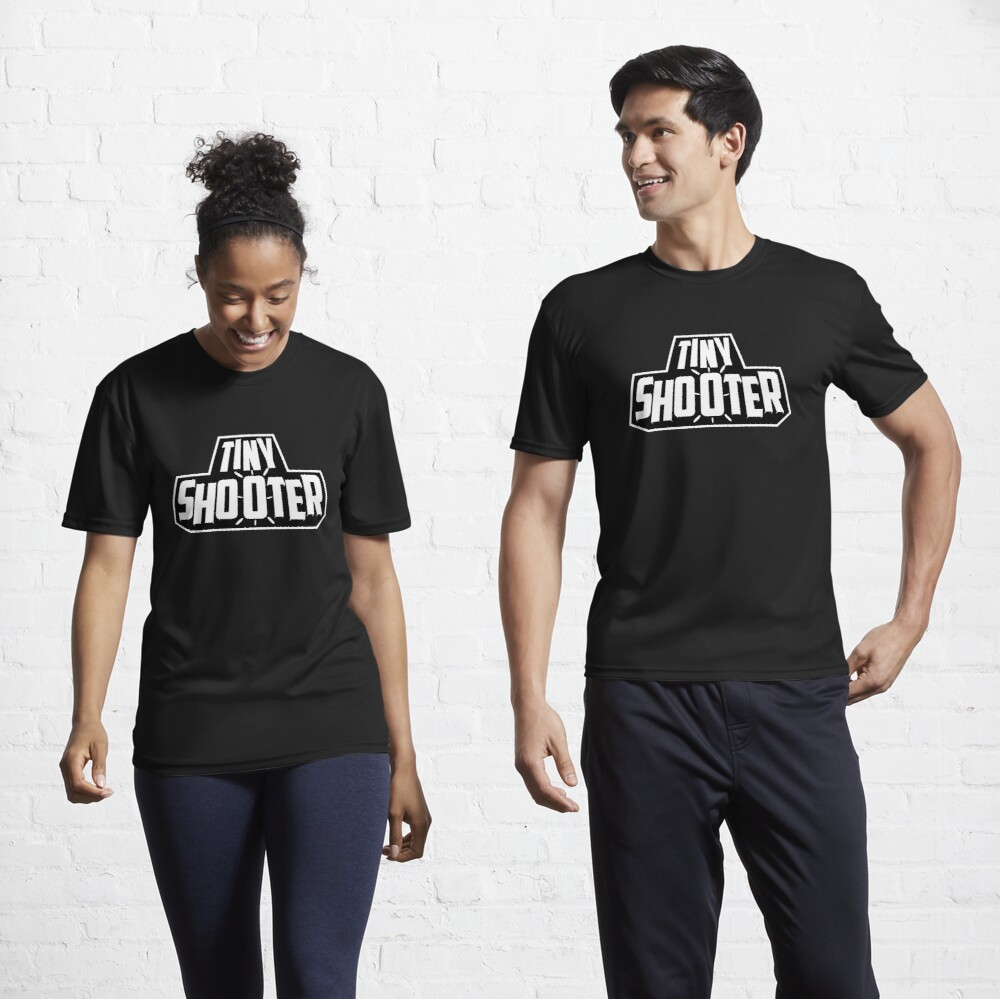 Tiny Shooter - Logo Active T-Shirt