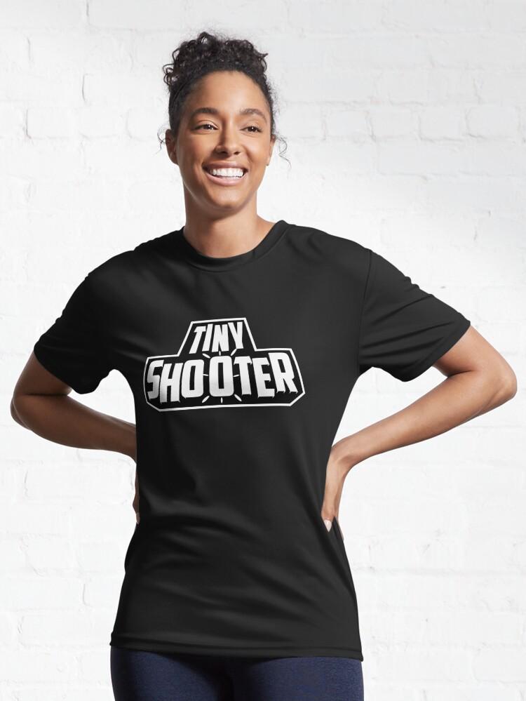 Alternate view of Tiny Shooter - Logo Active T-Shirt