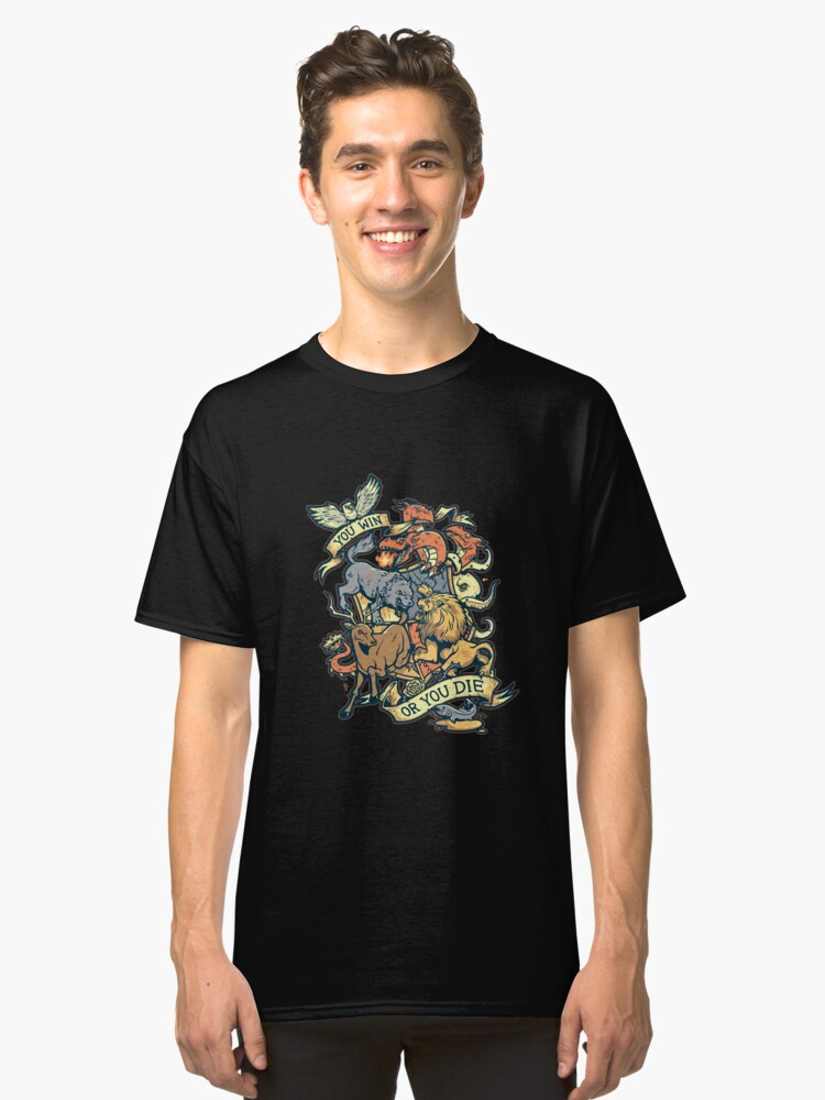 GAME OF THRONES Classic T-Shirt Front