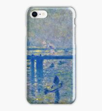 Claude Monet - Charing Cross Bridge iPhone Case/Skin