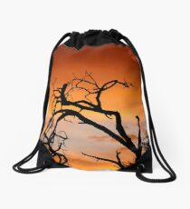 THE LONELY TREE Drawstring Bag