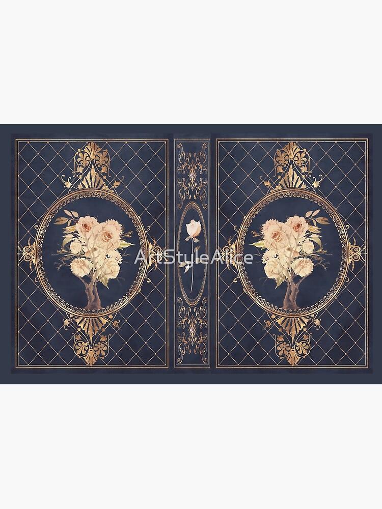Magic fantasy rose by ArtStyleAlice