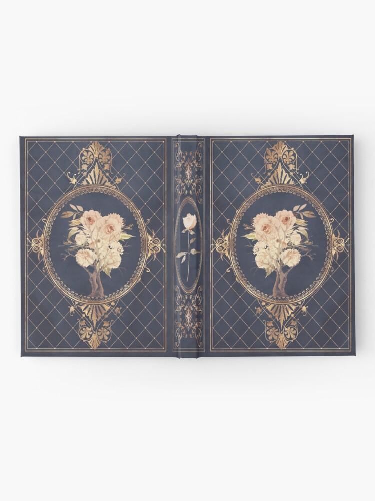 Alternate view of Magic fantasy rose Hardcover Journal