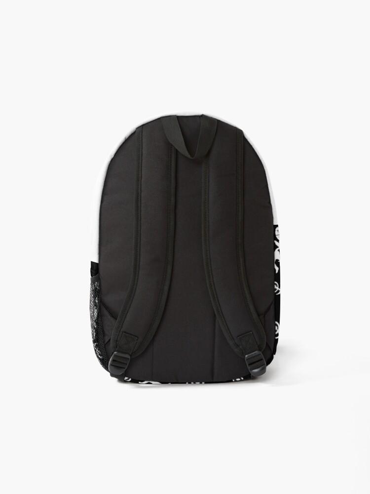 Alternate view of Freestyle Dirt Bike Tricks Pattern Backpack