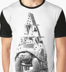turtle cardhouse Graphic T-Shirt