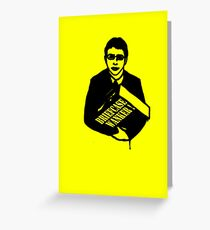 "The Inbetweeners - ""Briefcase Wanker!"" Greeting Card"