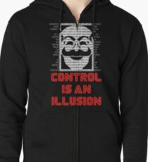 Control Is An Illusion Zipped Hoodie
