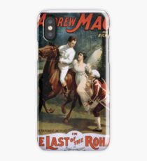 Performing Arts Posters The singing comedian Andrew Mack in the The last of the Rohans by Ramsay Morris 2026 iPhone Case/Skin