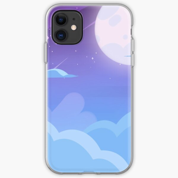 Midnight Diamond Sky iPhone Soft Case
